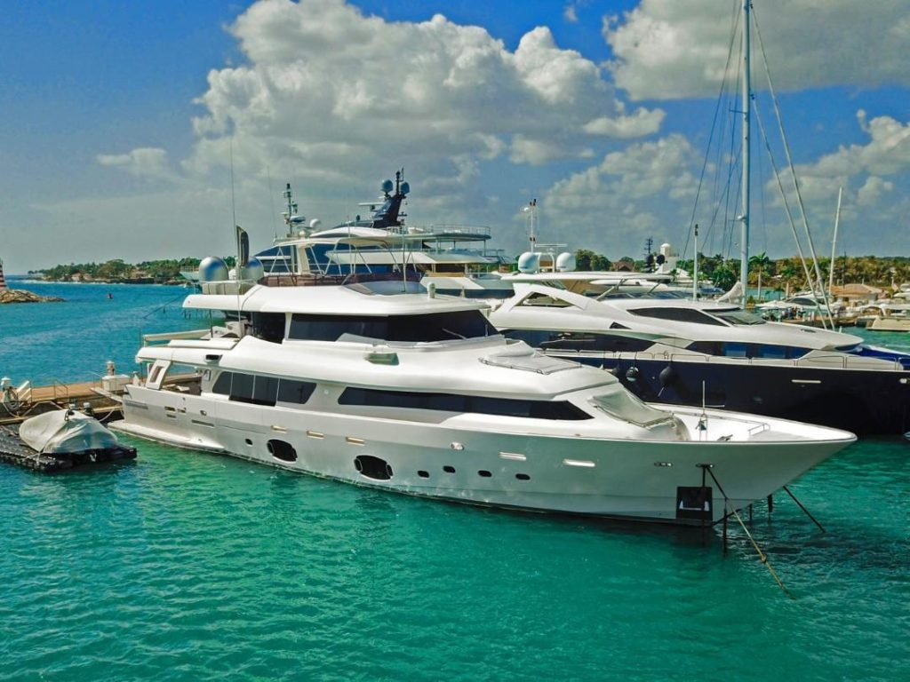 Ferretti private yacht finance Nancy Gonzalez